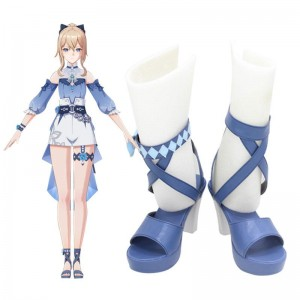 Game Genshin Impact Summertime Jean Cosplay Shoes