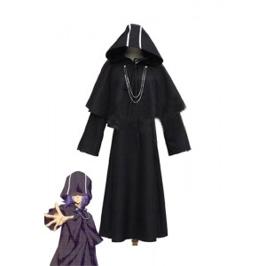 Hitman Reborn Mammon Black Cosplay Costume