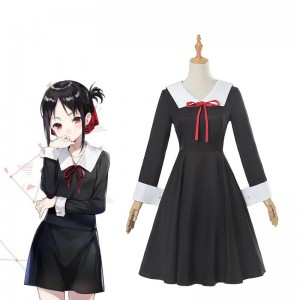 Kaguya-sama wa Kokurasetai Tensai-tachi no Renai Zunousen Kaguya Shinomiya Long Sleeve Uniform Cosplay Costume