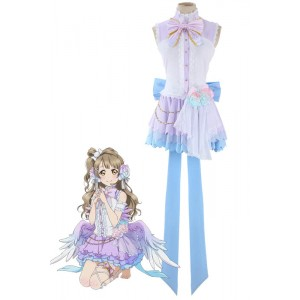 Love Live Minami Kotori Valentine's Day Cosplay Costume With Big Bowknot