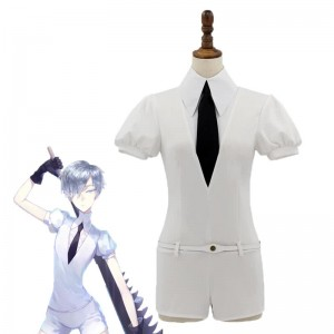 Land of the Lustrous Hōseki no Kuni Antarcticite The Entire Personnel White Cosplay Costumes
