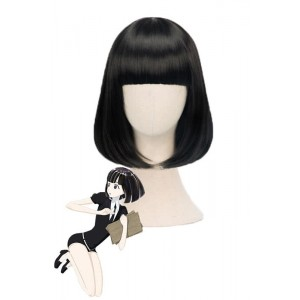 Land of the Lustrous Houseki no Kuni Obsidian Middle Black Cosplay Wigs