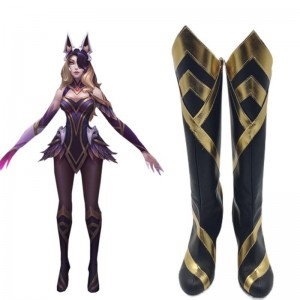 LOL Coven Ahri Cosplay Shoes