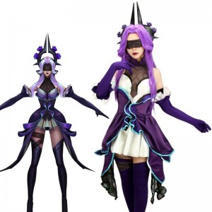 LOL Withered Rose Syndra Cosplay Costume
