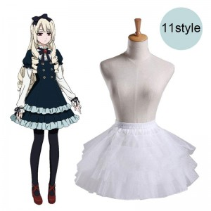 Lolita Crinoline Skirt Adjustable 11 Style Cosplay Costume