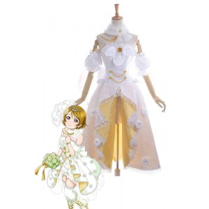 Vicwin-One Love Live Koizumi Hanayo Wedding Dress Cosplay