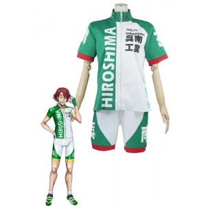 Yowamushi Pedal Kureminami Kogyo Fahrrad Racing Club Uniform Cosplay