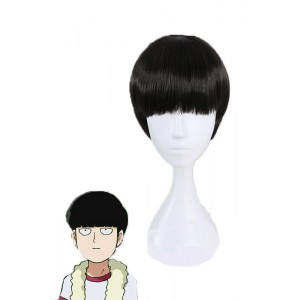 Passers-by Beast Shigeru Shadow Mountain Black Short Anime Cosplay Wigs