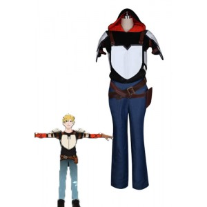 Jaune Arc Anime Cosplay Costume