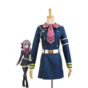 Seraph Of The End Shinoa Hiragi Uniform Kleid Cosplay