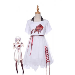 SINoALICE Snow White Casual Dress Game Cosplay Costumes