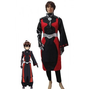 Twin Star Exorzisten Rokuro Enmado Customized Anime Cosplay Kostüme