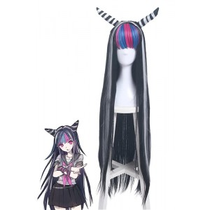 Danganronpa: Trigger Happy Havoc Mioda Ibuki Long Synthetic Cosplay Wigs ZY215