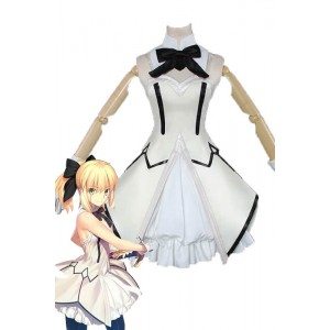 FateGrandOrder Saber Lily Anime Cosplay Costumes