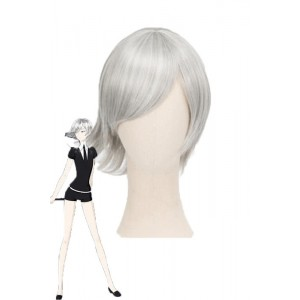 Land of the Lustrous Houseki no Kuni Goshenite Short Gray Cosplay Wigs