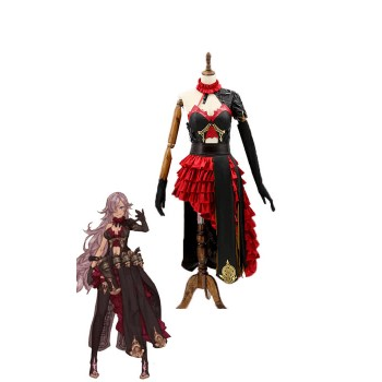 SINoALICE Cinderella Black Dress Game Cosplay Costumes