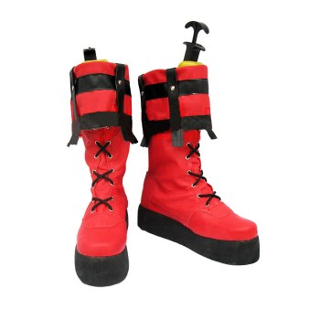Guilty Gear Sol Badguy Cosplay Schuhe mit heller Farbe