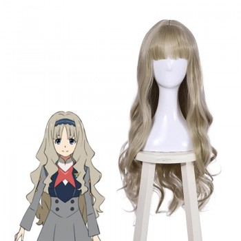 90 cm Long DARLING in the FRANXX KOKORO Gray Anime Cosplay Wigs