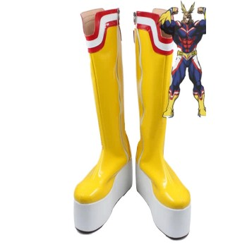My Hero Academia aller Macht Anime Cosplay Schuhe Customized Lange Stiefel