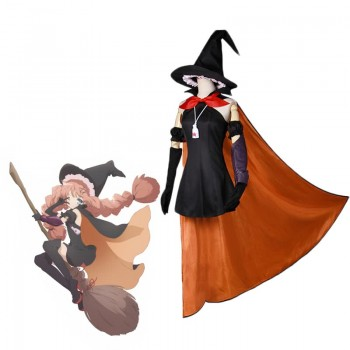 Magical Girl Raising Project Top Speed Tsubame Murota Witch DressesCosplay Costumes