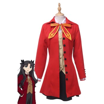 Anime Fate Stay Night Fate / Zero-Tohsaka Rin Cosplay Cosplay Kleid
