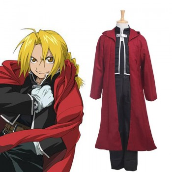 Anime Fullmetal Alchemist Edward Elric Cosplay-Generation Ein Full Set