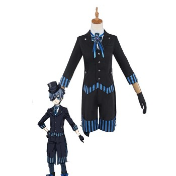 Presale Black Butler Ciel Phantomhiv Cruise Liner Cosplay Suit