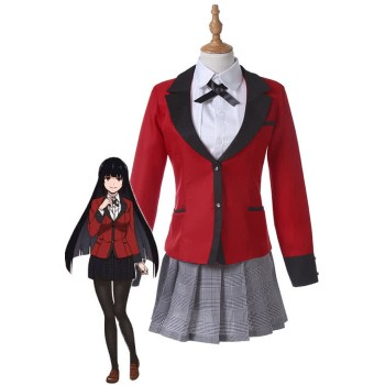 Kakegurui Yumeko Jabami Uniform Cosplay Costumes