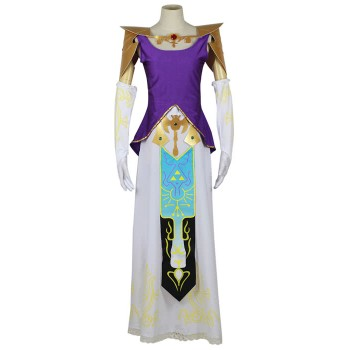 Legend Of Zelda Cosplay Kostüm der Prinzessin