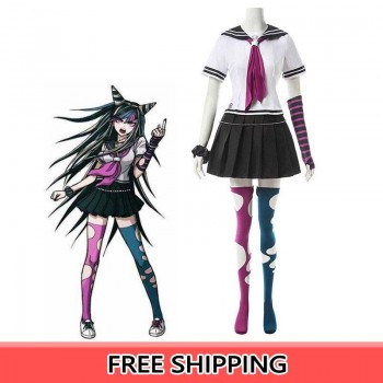 Dangan Ronpa2  Ibuki Mioda Uniform Cosplay Costumes
