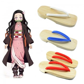 Demon Slayer / Kimetsu no Yaiba 3 Color Clogs Cosplay Shoes