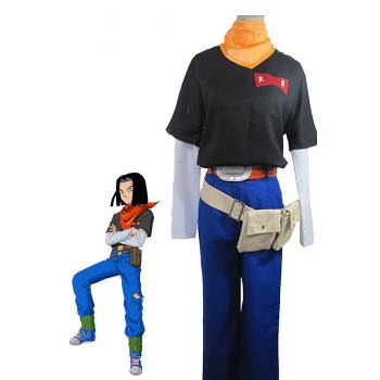 Dragon Ball Z Android No.17 Cosplay