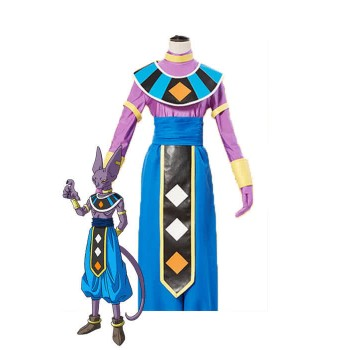 Dragon Ball Super Beerus Blau Anime Cosplay Kostüme