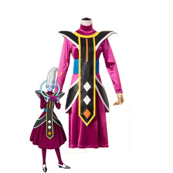 Dragon Ball Super Whis Lila Anime Cosplay Kostüme