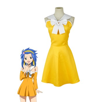 Fairy Tail Levy McGarden Kleid Cosplay