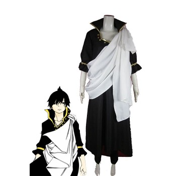 Fairy Tail Zeref Cosplay-Kostüm mit Cool White