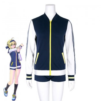 Fate Grand Order Altria Pendragon Sable Juego Cosplay Costume