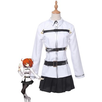 Fate/Grand Order Grand Master Olgamally Animusphere Black And White Uniform Anime Cosplay Costumes