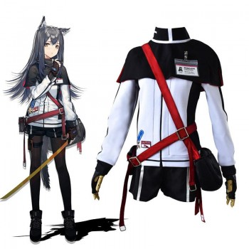 Game Arknights Texas Cosplay Costume