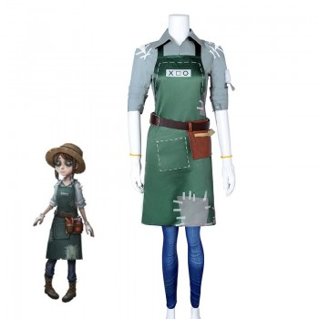 Game Fifth Personality Gardener Emma Woods Cosplay Costume