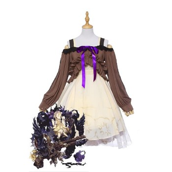 Spiel SINoALICE Sleeping Beauty Kleid Cosplay Kostüme