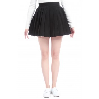 Dark Black Sailor Uniform Skirt Cosplay Costumes