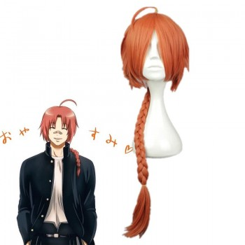 Gintama For Kamui Orange Long Plait Cosplay Wigs
