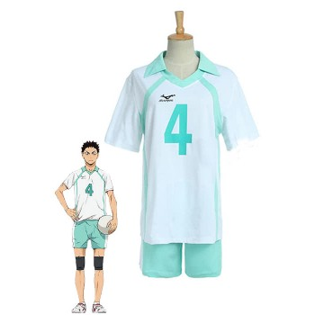 Haikyuu!! Hajime Iwaizumi Aobajōsai High School Volleyball Club Cosplay Costumes