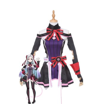 Japanese Anime Sword Art Online the Movie Ordina Scale Cosplay Costume Shigemura Yuuna Cosplay Costumes