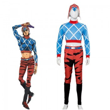 JoJo's Bizarre Adventure Guido Mista Full Sets Cosplay Costume
