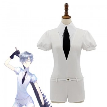 Land of the Lustrous Hōseki no Kuni Antarcticite Weiß Cosplay Kostüm
