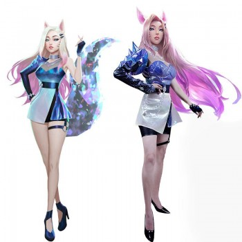 LOL KDA ALL OUT Ahri Cosplay Costume