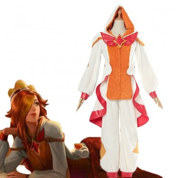 LOL Pajama Guardian Miss Fortune pajamas Cosplay Costume For deposits already paid