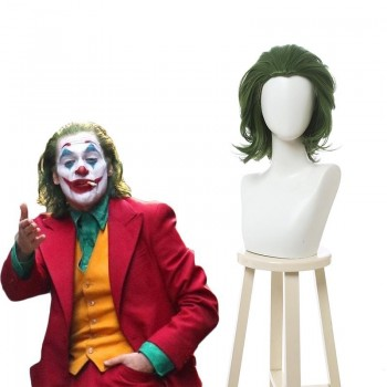 Movie Joker 2019 Joker Green Cosplay Wigs